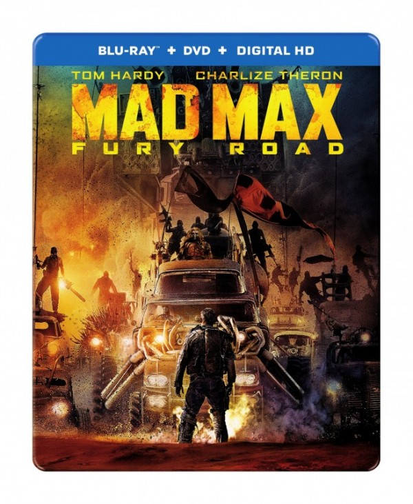 Mad Max Fury Road Box Art Blu-ray